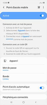Samsung Galaxy A51 - WiFi - Comment activer un point d'accès WiFi - Étape 12
