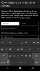Microsoft Lumia 650 - Applications - Créer un compte - Étape 9