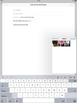 Apple iPad Pro - E-mail - E-mail versturen - Stap 10