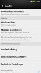 HTC One - Anrufe - Rufumleitungen setzen und löschen - 5 / 9