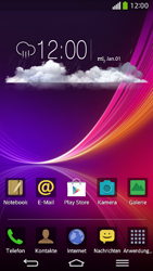 LG D955 G Flex - Startanleitung - Installieren von Widgets und Apps auf der Startseite - Schritt 1