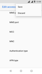Nokia 1 - MMS - Manual configuration - Step 16
