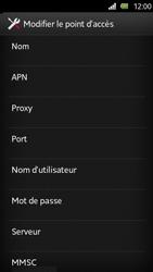Sony Xperia U - MMS - Configuration manuelle - Étape 8