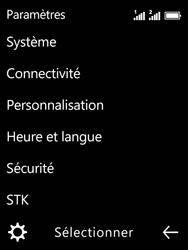 Nokia 3310 - Internet et connexion - Désactiver la connexion Internet - Étape 4