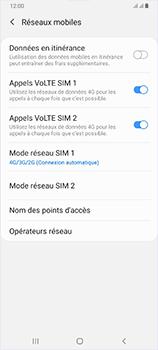 Samsung Galaxy A70 - Réseau - Comment activer une connexion au réseau 4G - Étape 8