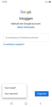 Samsung galaxy-j6-sm-j600fn-ds-android-pie - Applicaties - Account aanmaken - Stap 6