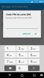 Sony Xperia Z5 Compact - Sécuriser votre mobile - Personnaliser le code PIN de votre carte SIM - Étape 8