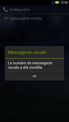 Acer Liquid E3 - Messagerie vocale - Configuration manuelle - Étape 10
