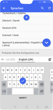 Huawei P20 Pro - Android Pie - Startanleitung - So fügen Sie eine Tastatursprache hinzu - Schritt 10
