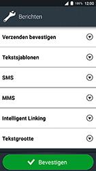 Doro 8035 - SMS - SMS-centrale instellen - Stap 6