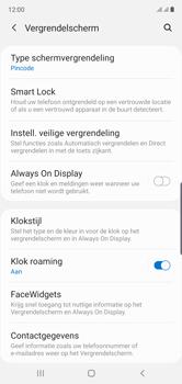 Samsung Galaxy Note10 - Beveiliging - stel in of wijzig pincode voor je toestel - Stap 13