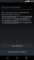 HTC Desire 610 - apps - account instellen - stap 14