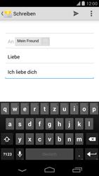 LG D821 Google Nexus 5 - E-Mail - E-Mail versenden - Schritt 9