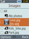 Samsung B2100 Xplorer - E-mail - Sending emails - Step 14