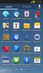Samsung Galaxy S2 - Internet et connexion - Partager votre connexion en Wi-Fi - Étape 3