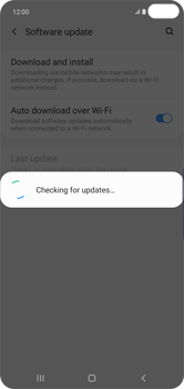 Samsung Galaxy S10 Plus - Software - Installing software updates - Step 7