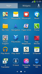 Samsung Galaxy S 4 LTE - Applications - How to check for app-updates - Step 3