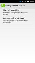 Alcatel Pop C7 - Netzwerk - manuelle Netzwerkwahl - Schritt 9