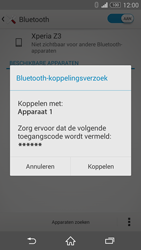Sony Xperia Z3 - bluetooth - headset, carkit verbinding - stap 7