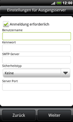 HTC A8181 Desire - E-Mail - Konto einrichten - Schritt 12