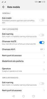 Huawei P20 - Android Pie - Internet e roaming dati - Come verificare se la connessione dati è abilitata - Fase 5