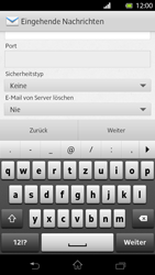 Sony Xperia T - E-Mail - Konto einrichten - Schritt 9