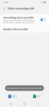 Samsung Galaxy A20e - Sécurité - modifier SIM PIN - Étape 12