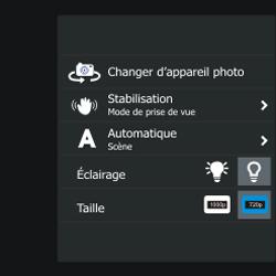 BlackBerry Q10 - Photos, vidéos, musique - Créer une vidéo - Étape 7