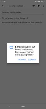 Sony Xperia 1 - E-Mail - E-Mail versenden - Schritt 11
