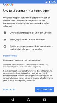 Huawei Nexus 6P - Android Oreo - Applicaties - Account instellen - Stap 14