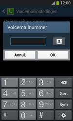 Samsung I8200N Galaxy S III Mini VE - Voicemail - Handmatig instellen - Stap 8
