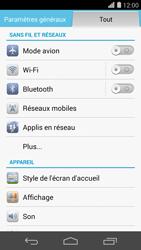 Huawei Ascend P7 - Wifi - configuration manuelle - Étape 3
