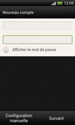 HTC Desire X - E-mail - Configuration manuelle - Étape 7