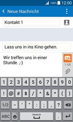 Samsung Galaxy J1 - MMS - Erstellen und senden - 15 / 24