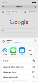Apple iPhone 11 Pro - iOS 14 - Internet et roaming de données - Navigation sur Internet - Étape 6