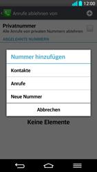LG G2 - Anrufe - Anrufe blockieren - Schritt 8