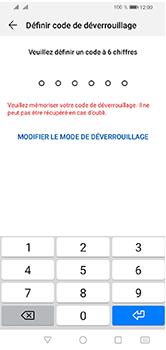 Huawei Y5 (2019) - Sécuriser votre mobile - Activer le code de verrouillage - Étape 6