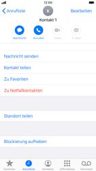 Apple iPhone 6s - iOS 13 - Anrufe - Anrufe blockieren - Schritt 7