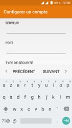Crosscall Trekker M1 Core - E-mails - Ajouter ou modifier un compte e-mail - Étape 11