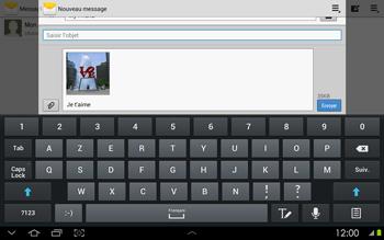 Samsung P5100 Galaxy Tab 2 10-1 - MMS - envoi d'images - Étape 13