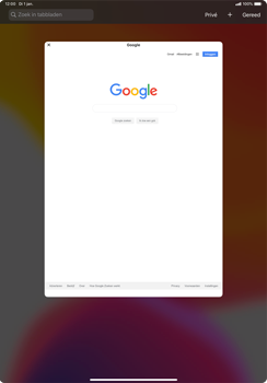 Apple ipad-pro-11-inch-2018-model-a1934- ipados-13 - Internet - Hoe te internetten - Stap 15