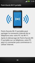 HTC One - Internet et connexion - Partager votre connexion en Wi-Fi - Étape 7