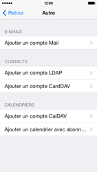 Apple iPhone 5c - E-mail - configuration manuelle - Étape 10