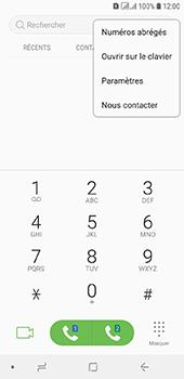 Samsung Galaxy A6 - Messagerie vocale - configuration manuelle - Étape 6