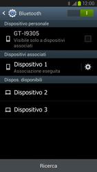Samsung Galaxy S III LTE - Bluetooth - Collegamento dei dispositivi - Fase 8