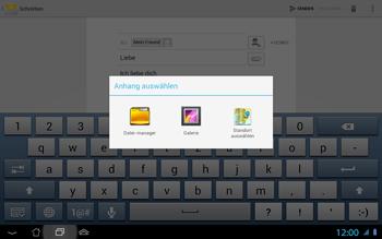 Asus Padfone 2 - E-Mail - E-Mail versenden - Schritt 11