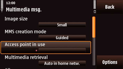 Nokia N97 Mini - MMS - Manual configuration - Step 22