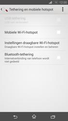 Sony Xperia Z3 Compact 4G (D5803) - WiFi - Mobiele hotspot instellen - Stap 11