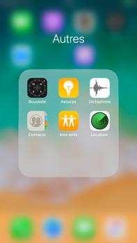 Apple iPhone 7 Plus - iOS 11 - Contact, Appels, SMS/MMS - Ajouter un contact - Étape 4