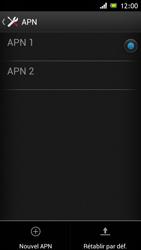 Sony Xperia J - MMS - Configuration manuelle - Étape 15
